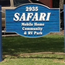 Entrance Sign right